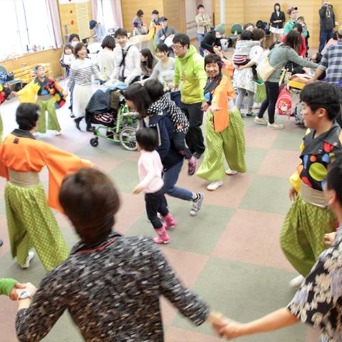 にっぽんど真ん中祭り出演!緑区鳴子踊りチーム「鳴子調」