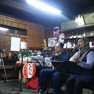 ちんちくりん  at 千代菊酒蔵ライブ